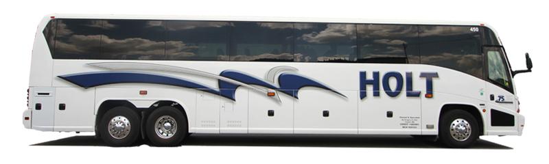 Deluxe motor coach rental service minneapolis mn for Holt motors cokato street west cokato mn