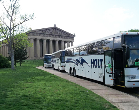 Request a quote holt peterson bus charter company for Holt motors cokato street west cokato mn